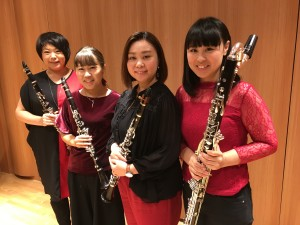 Kansai Clarinet quartett 1